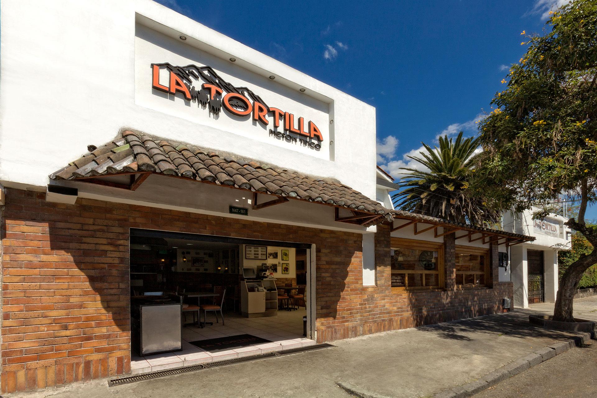 Restaurante La Tortilla Mesón Típico - Contacto