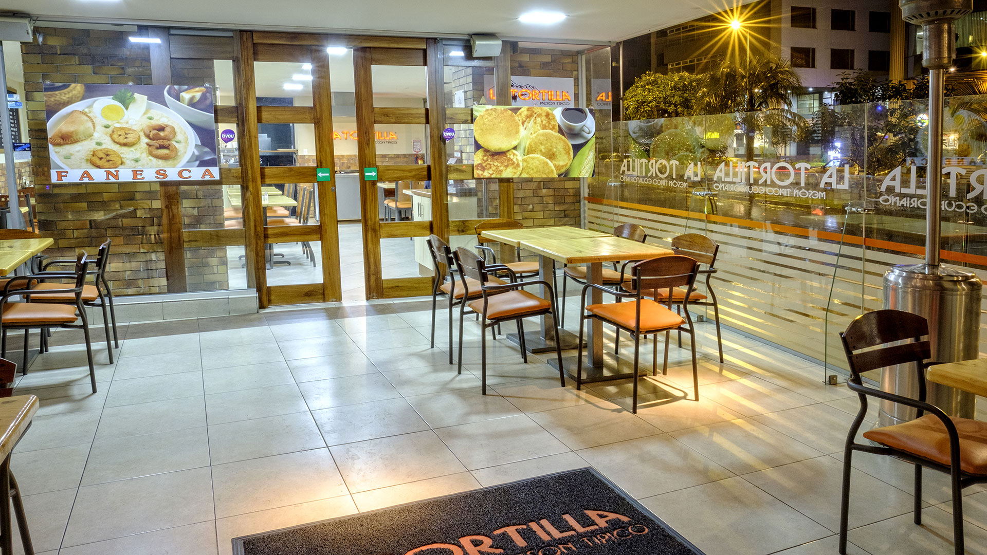 La Tortilla - Local República del Salvador